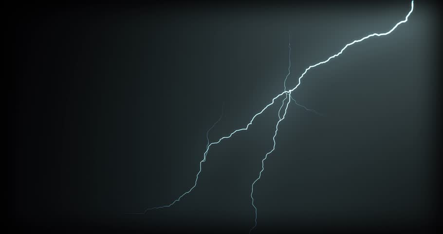 Lightning strikes on a black background | Shutterstock HD Video #1021536628