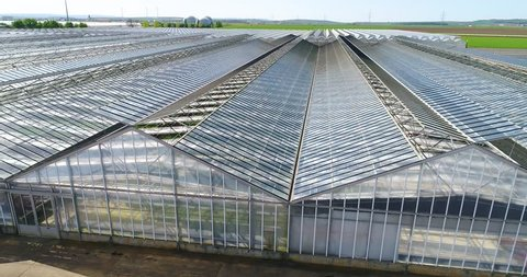 Gable Roof Greenhouse Stock Footage Video (100% Royalty-free) 16111201 | Shutterstock