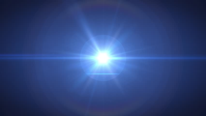 Optical Lens Flare Effect, Light Burst. 4K Resolution. Very High Quality and Realistic.