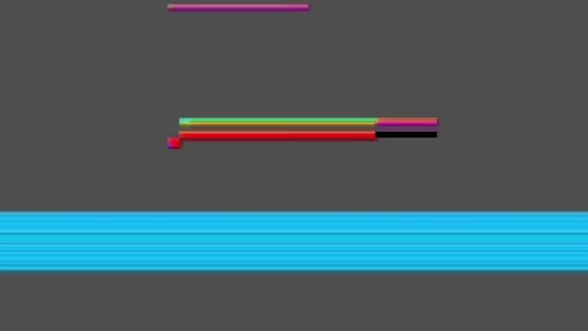 4k Film glitch matte for VFX and digital compositing | Shutterstock HD Video #1021652830