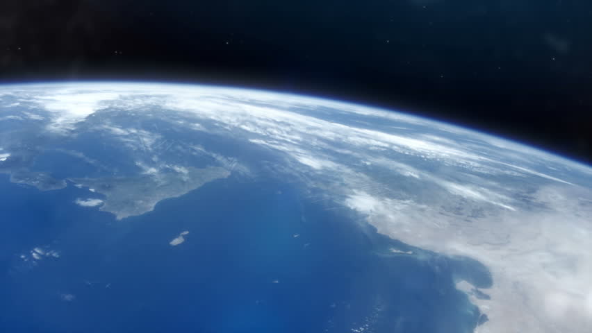 Earth From Space HD | Shutterstock HD Video #1021844104