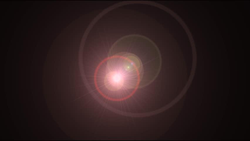 Flare light effect video #1021912588