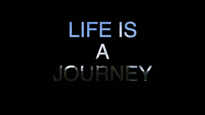 Life Is A Journey Quote Stock Footage Video 100 Royalty Free 1021931587 Shutterstock
