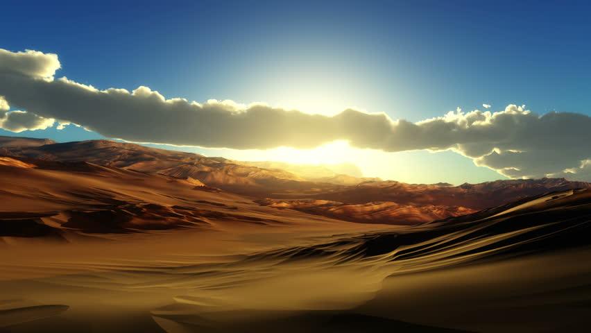 Fly over desert 4k | Shutterstock HD Video #1021948615