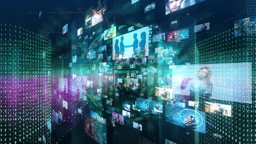 Social networking concept. | Shutterstock HD Video #1022024728