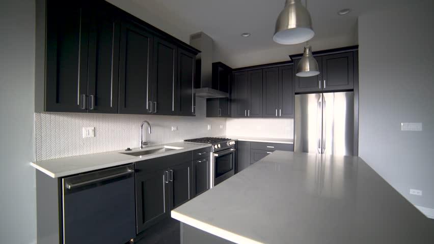 Modern Luxury Kitchen Interior Walk Stock Footage Video 100 Royalty Free 1022170864 Shutterstock,Home Decorating Paint