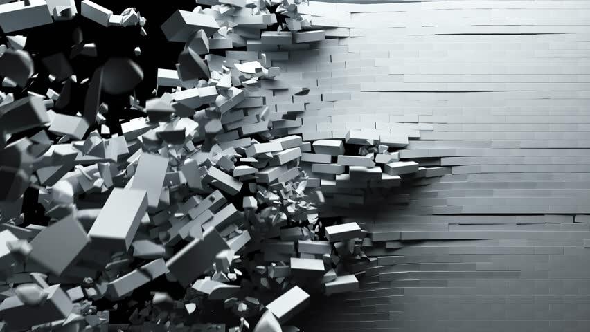 Breaking brick wall, alfa channel