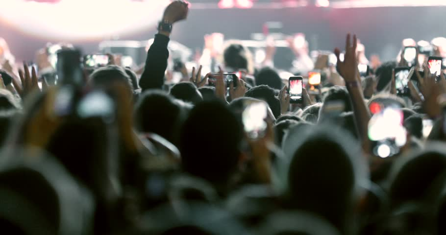 Crowd applause concert stage and concert hall concert music festival crowd, crowd music crowds entertainment, night out lifestyle festivals stadium crowd, friends woman in party dancing on concerts | Shutterstock HD Video #1022213881