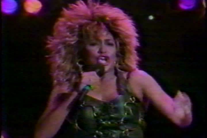 CIRCA 1988 - Aging rock stars, such as Tina Turner and members of the Beatles, continue to top the charts.