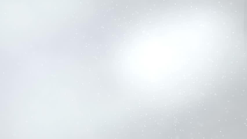 Holiday light gray shining elegant background. Looped 4K motion graphic.