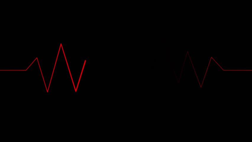 Looping Red Pulse Waves | Shutterstock HD Video #1022303401
