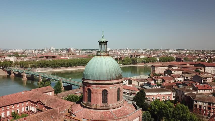 Toulouse city dome of la grave
