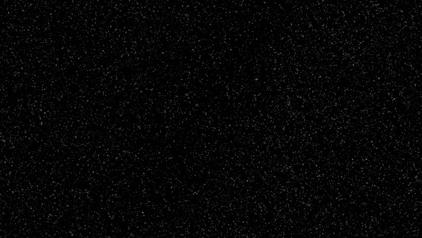 Abstract background of the heavy snow falling on the black screen for your logo or video ads. #1022440183