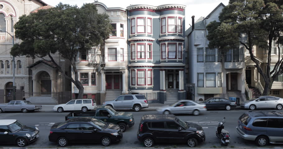 Residential Street,  San Francisco California USA