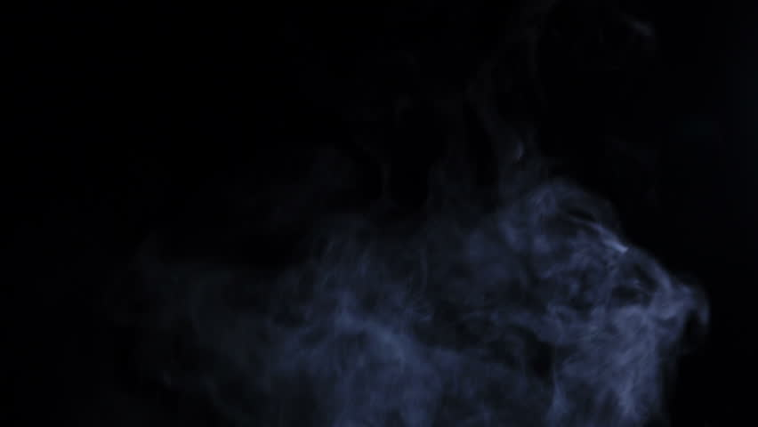 Smoke abstract. Smoke cloud. White smoke on black background. Cigarette smoke. Fog background. Use blending mode (screen)  | Shutterstock HD Video #1022450287
