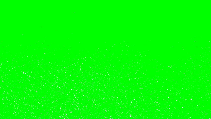 Animated blizzard with simple small snow flakes flying or drifting away from camera as if looking down from high point of view. Green background. | Shutterstock HD Video #1022562211