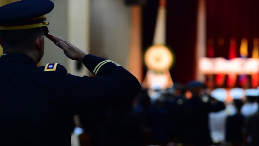 CIRCA 2018 - Repatriation Ceremony for Korea War Heroes, full military funeral includes 21 gun salutes.