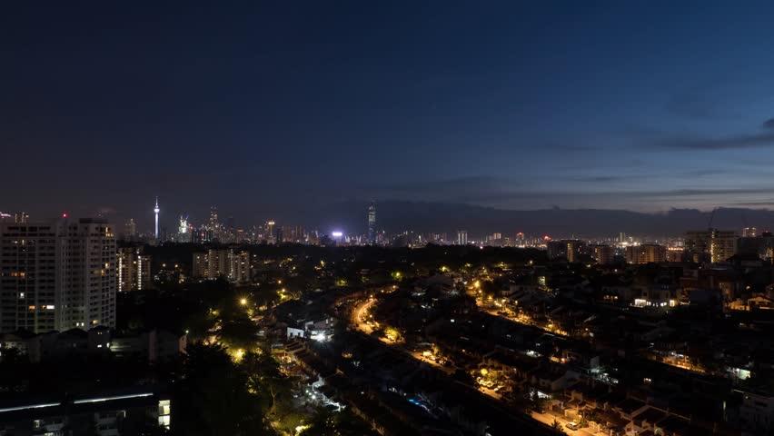 Sunrise in Kuala Lumpur   Shutterstock HD Video #1022680789