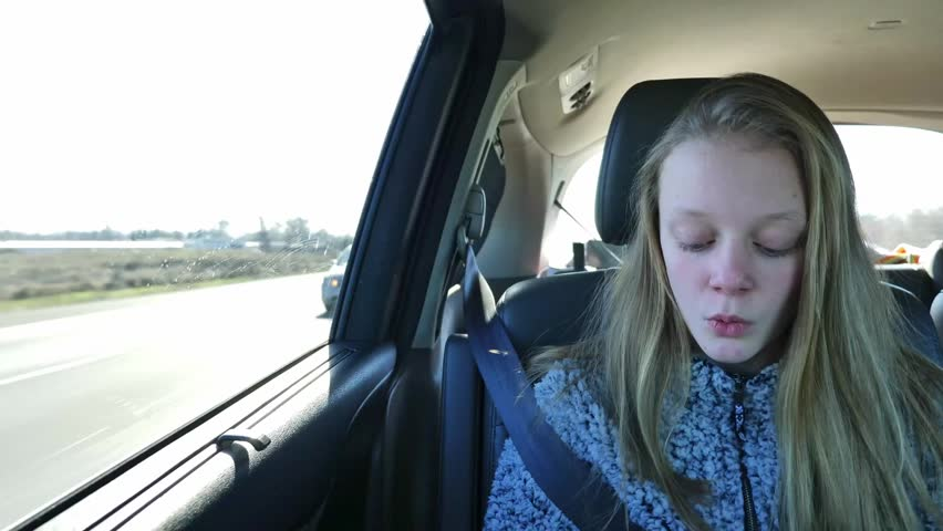 Blonde teen videos A Blonde Teen Girl Rides Stock Footage Video 100 Royalty Free 1022775496 Shutterstock