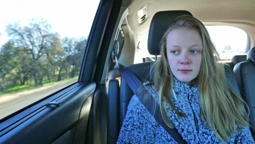 Blonde teen videos A Blonde Teenage Girl Rides Stock Footage Video 100 Royalty Free 1022775499 Shutterstock