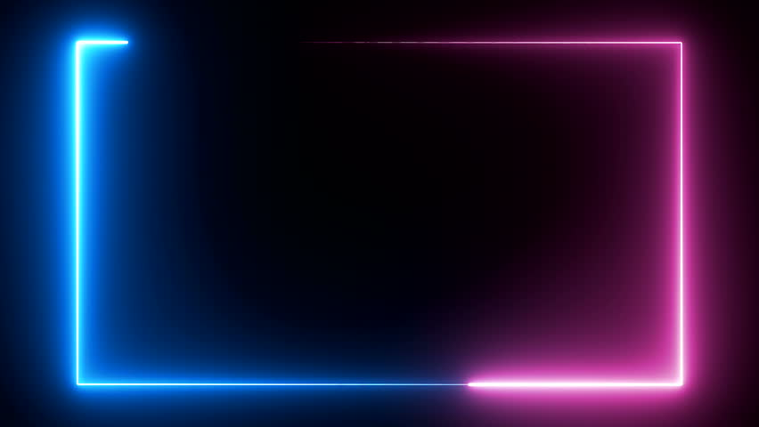 POPULAR abstract seamless background blue purple spectrum looped animation fluorescent ultraviolet light 4k glowing neon line Abstract background web neon box pattern LED screens projection technology Royalty-Free Stock Footage #1022870776