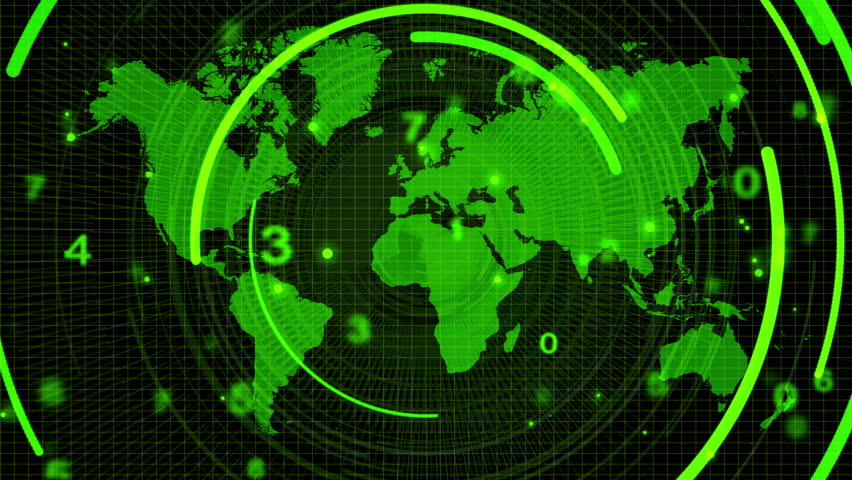 Technology background,green color | Shutterstock HD Video #1022893123