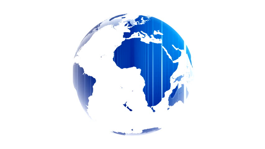 Different colors and lights inserted into the world map white background world map blue white globe loop animation Planet Earth spinning isolated on white background rotating globe digital data world   Shutterstock HD Video #1022915296