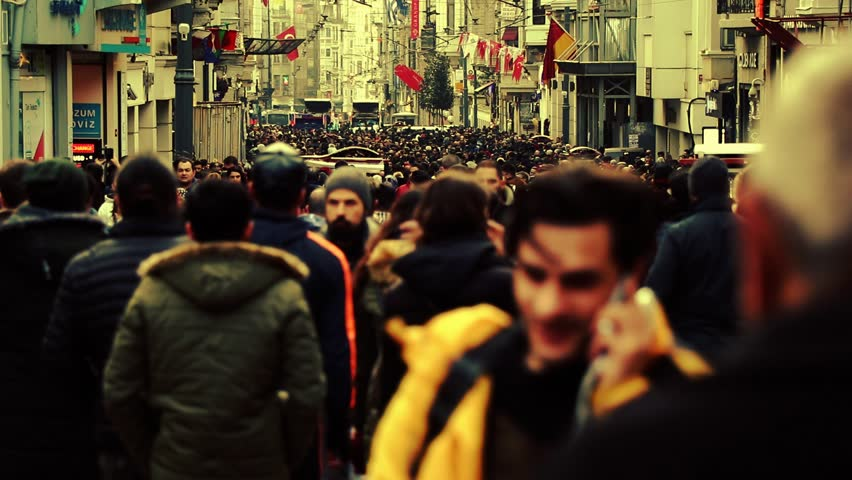 Timelapse people city. Timelapse people walking. crowd time lapse street walking people. Background people large street. istanbul turkish woman and turkish man.