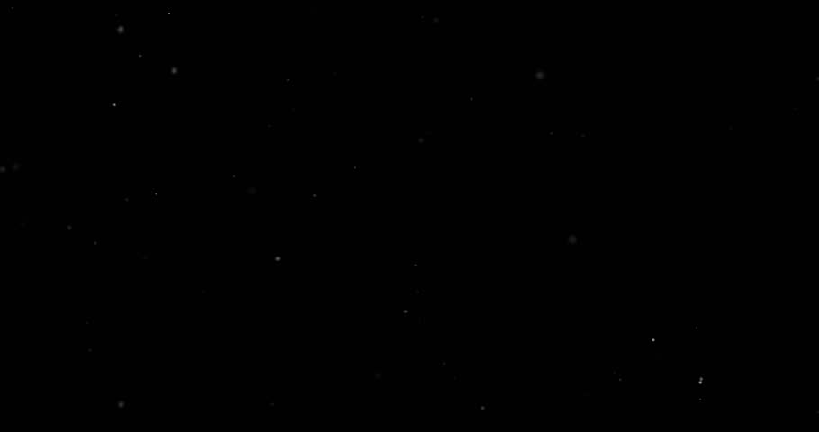 Flying dust particles on a black background | Shutterstock HD Video #1023119251