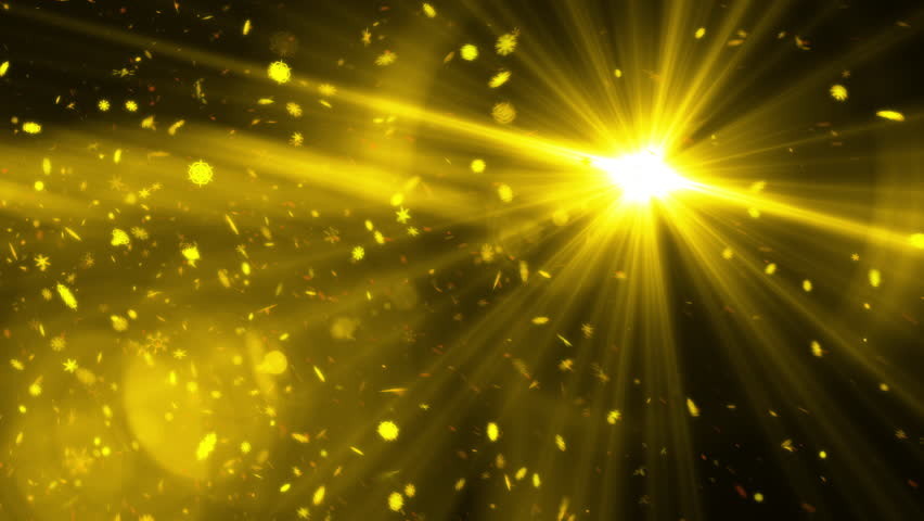 Loopable bright particle dusk background,gold background | Shutterstock HD Video #1023146629