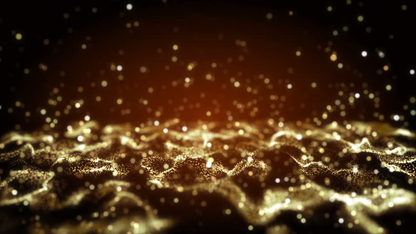 4K Abstract motion background animation shining particles stars sparks and magic dust forming in space wave flow with light rays and projections seamless loop   Shutterstock HD Video #1023199828