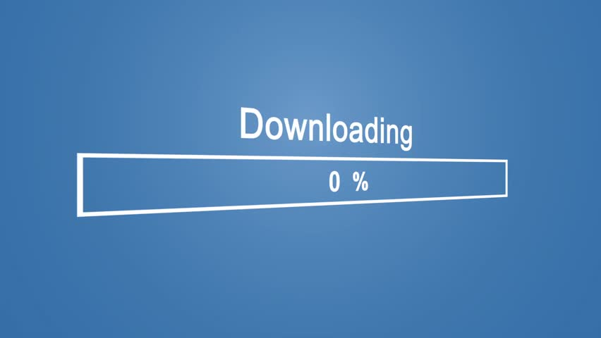 Download Process Animation on Blue Background | Shutterstock HD Video #1023389869