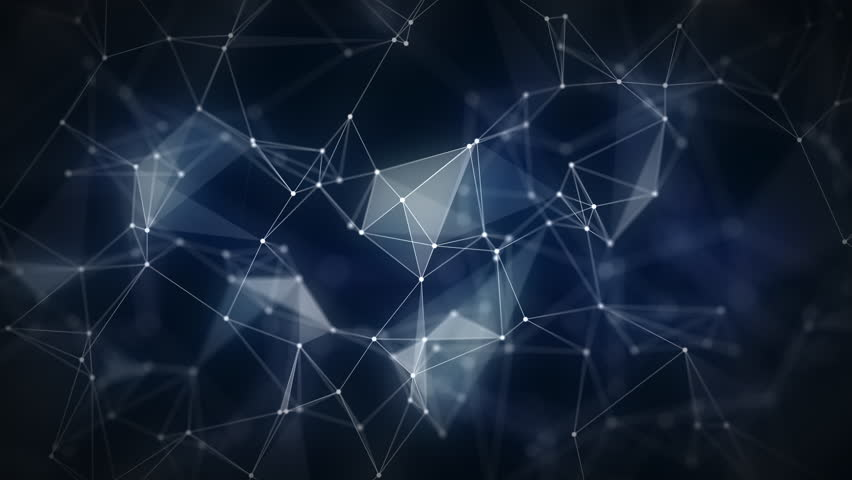 Abstract triangular forms move. Loopable geometric polygon motion graphics background. Design concept. Geometric and abstract background for presentation or intro. #1023421108