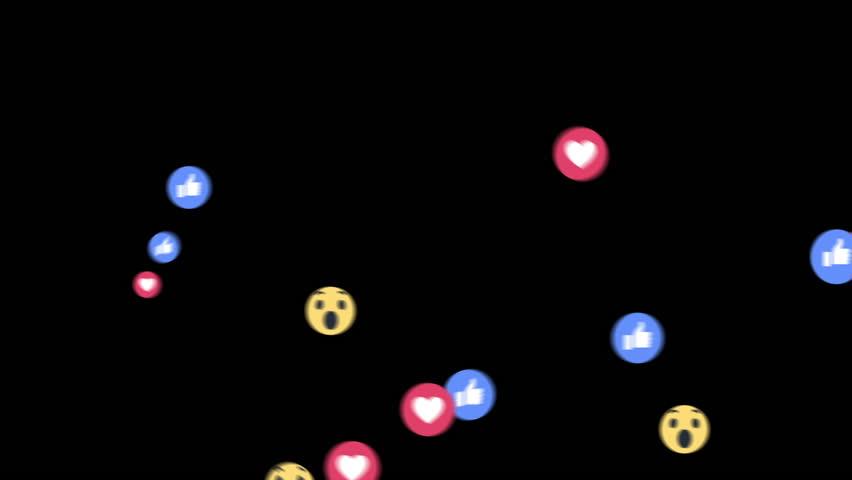 Paris, France - 2 February 2019 : Emoji Social Media reaction