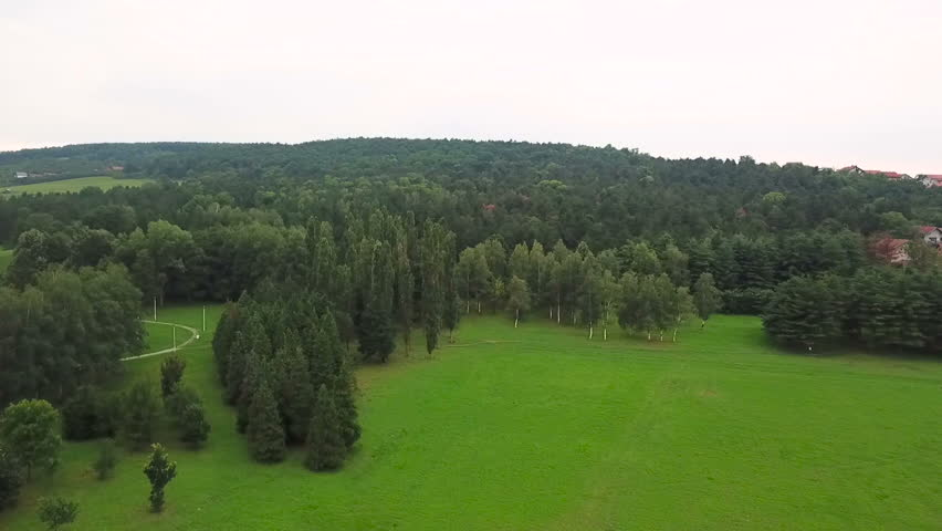 Park aerial, Serbia Krusevac | Shutterstock HD Video #1023445246
