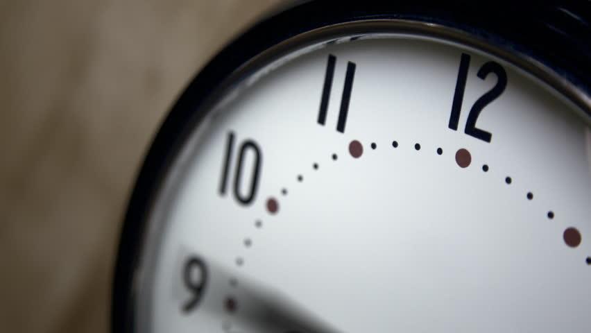Clock Hands Spinning Fast Time Flies 2