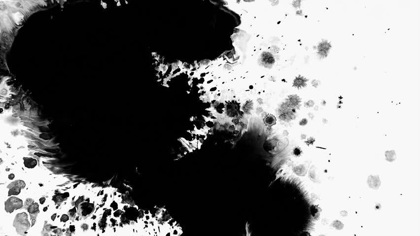 Ink mask video transient | Shutterstock HD Video #1023633985