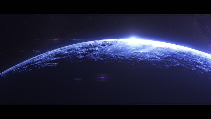 Alien Planet Space Scene   #1023781303