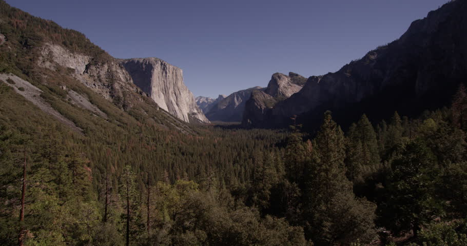California, USA - January 27,2019,Yosemite National Park Valley, Shot with the Red Epic | Shutterstock HD Video #1023787552
