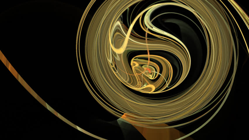 Abstract fractal forms morph and oscillate (Loop) | Shutterstock HD Video #1023833488