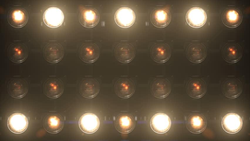 Lights Flashing Wall Flashlights VJ Stage Floodlight 4K Blinder Blinking Lights Flash Club  Disco Lights Matrix Beam Lights Bulb Halogen Headlamp Lamp Nightclub Turn Off On Loop
