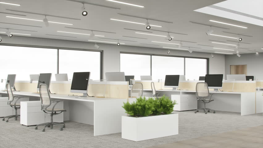 Modern Office Space | Shutterstock HD Video #1023869269