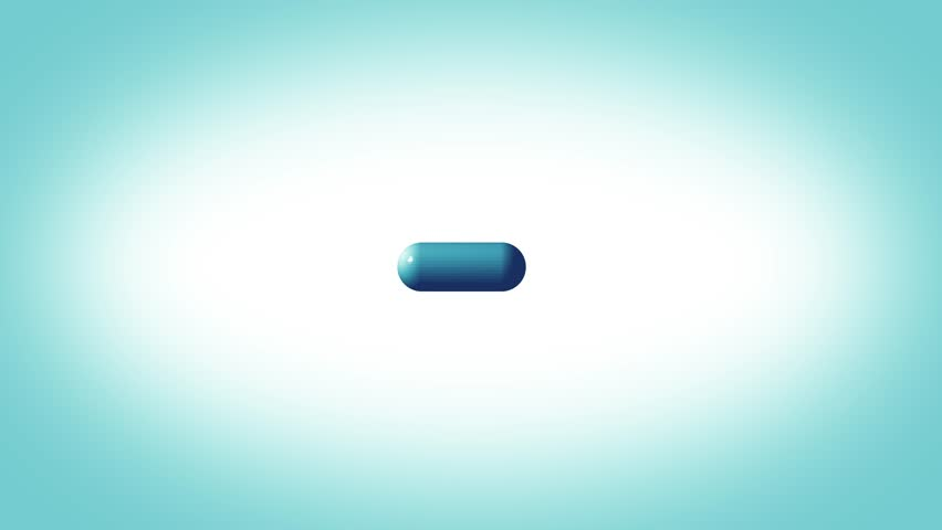 3d Pill Spinning Health And Medicine Background/ 4k animation of a 3d medicine pill spinning background | Shutterstock HD Video #1023918691