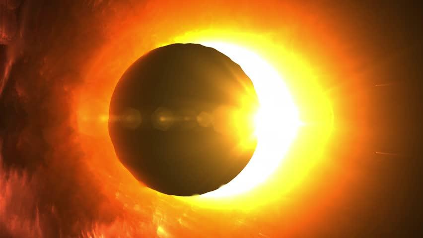Epic Total Solar Eclipse   Shutterstock HD Video #1023993158
