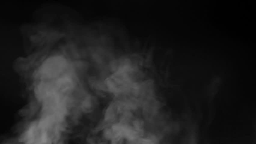The water spray steam or smoke motion isolated on black background. | Shutterstock HD Video #1024003910