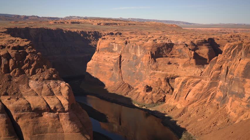 Horseshoe Bend Colorado River Arizona USA   Shutterstock HD Video #1024005584