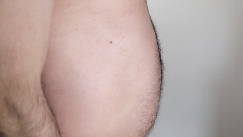 Overweight man with big belly | Shutterstock HD Video #1024009772