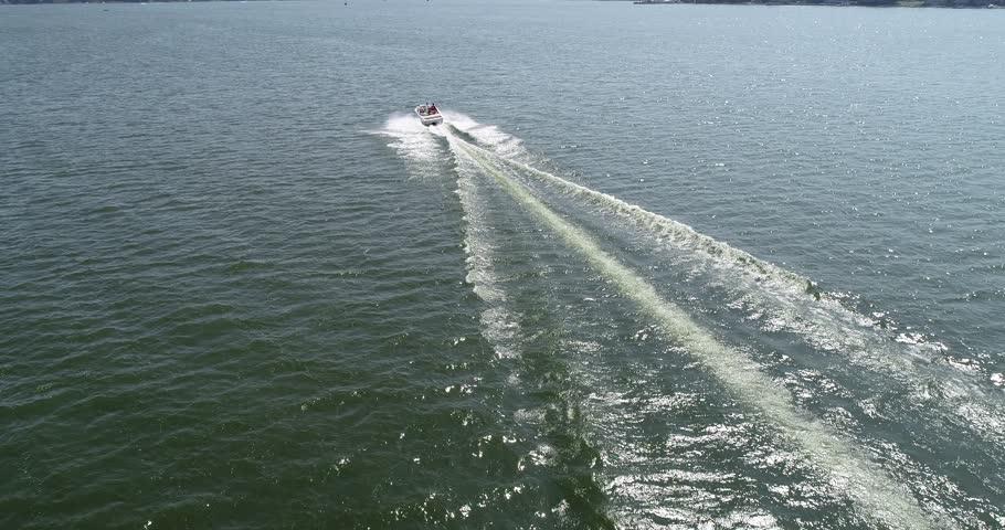 Boat Drone shot #1024084295