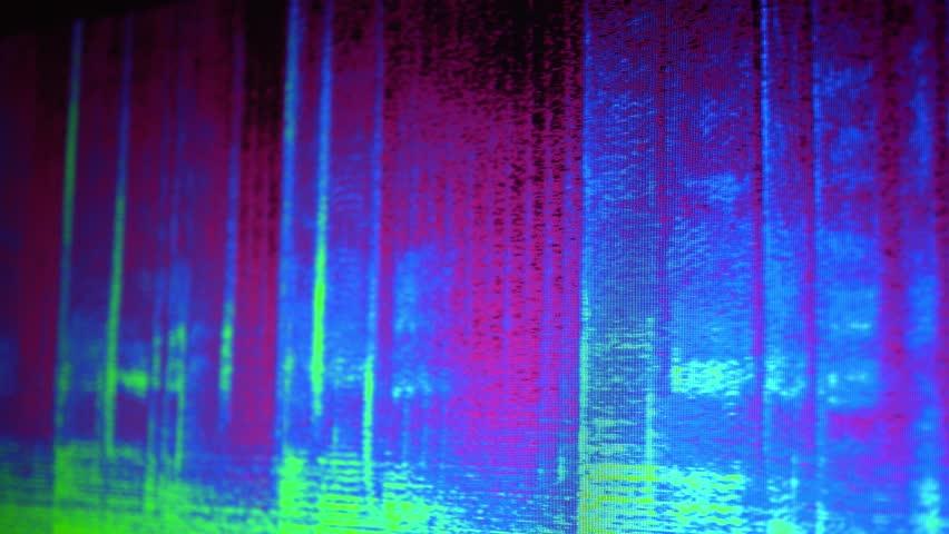 Digital Audio Spectrogram | Shutterstock HD Video #1024100465