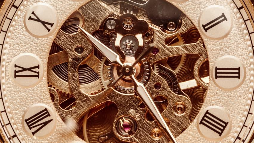 Spiral clock track of time | Shutterstock HD Video #1024230734